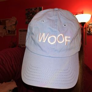 Baby blue, NWOT woof hat in support do the VCA